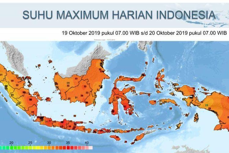 Hingga Minggu Depan, Suhu Panas Masih Melanda Sebagian Besar Wilayah Indonesia