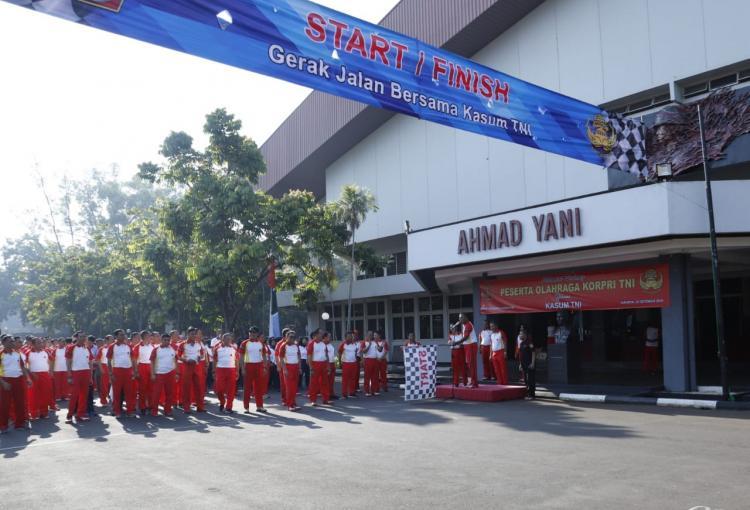 Kasum TNI: Jadikan Anggota Korpri TNI Sebagai Abdi Negara Yang Profesional