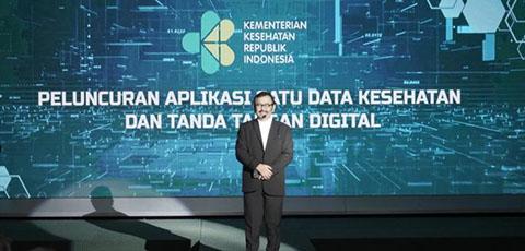 Kemenkes Luncurkan Aplikasi Satu Data Kesehatan dan Tanda Tangan Digital
