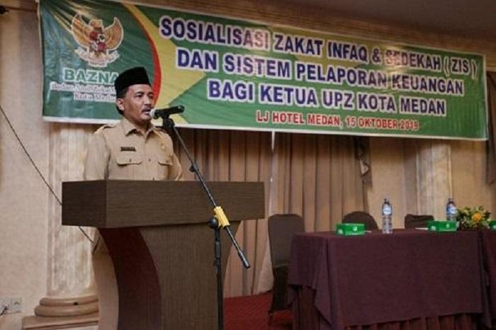 Sosialisasi ZIS oleh BAZNAZ Kota Medan, Wali Kota Harapkan Optimalkan Fungsi Pengelolaan