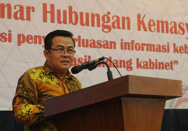Sekretariat Kabinet Ajak Pimpinan Kementerian/Lembaga Sebarluarkan Hasil Sidang Kabinet