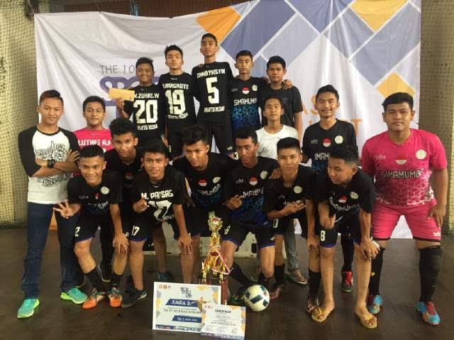 Tim SMA N 3 Medan Juara Tiga Futsal Nasional Antar Pelajar