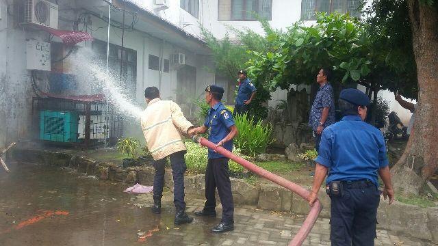 Trafo Listrik Korslet, Kantor ATR/BPN Deli Serdang Heboh