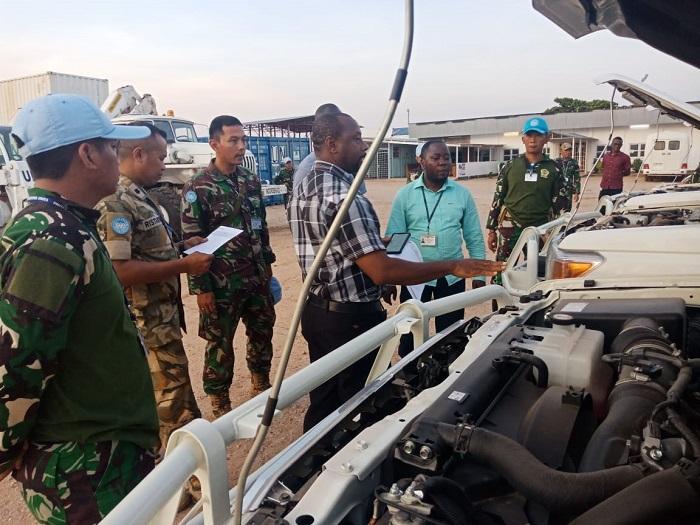 Tim Advance Konga XXXIX-A/RDB Terima Kunjungan COE Bukavu
