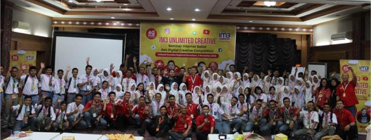 IM3 Unlimited Creative 'Sehatkan' 12 Sekolah di Medan