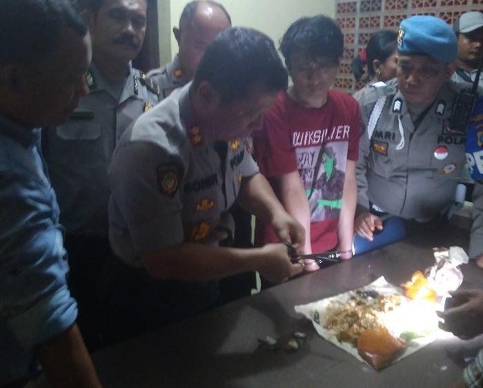 Pasutri Terciduk Bawa Sabu dalam Nasi Bungkus Saat Jenguk Tahanan Polrestabes Medan