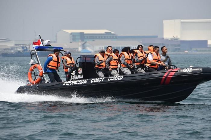 Kepala Bakamla RI Pimpin Uji Coba Kapal Patroli RHIB