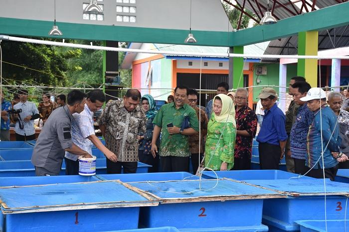 Balai Benih Ikan Air Tawar di Desa Lengau Seprang Resmi Beroperasi