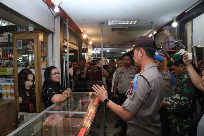 Kapolrestabes Medan Patroli Keliling, Wujudkan Kota Medan Aman dari Gangguan Preman