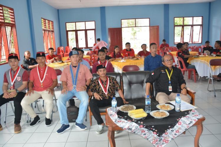 Staf Ahli Hadiri KTD DPC Carateker GMNI Sibolga