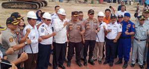 Dukung Pariwisata Danau Toba, Kemenhub Luncurkan Kapal Ferry Ro-Ro 300 GT dari Pantai Pasir Putih Parparean