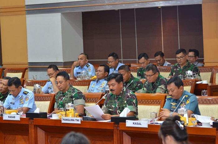 TNI Prioritaskan Peningkatan Kekuatan Pertahanan Tahun 2020