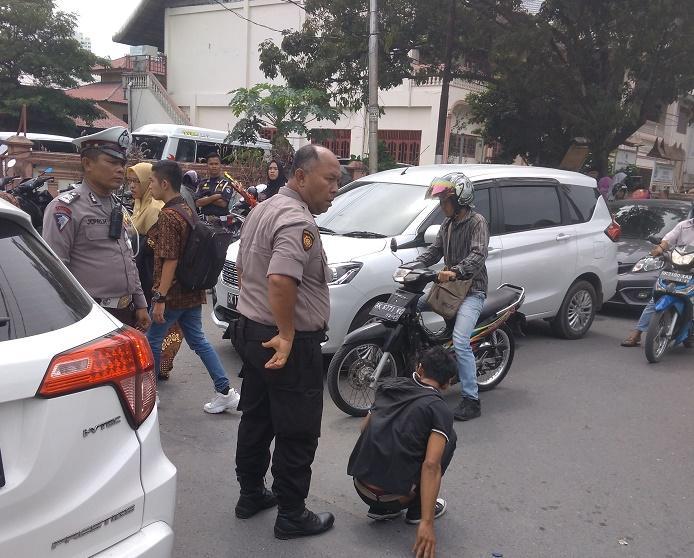 Dikutip Sampai Rp 50 Ribu, Polisi Tangkap Preman Pungli di Dekat Kampus UINSU Medan