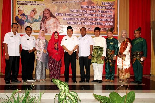 Ahmad Muflih Sebut Etnis Melayu Penduduk Asli di Kabupaten Labuhan Batu