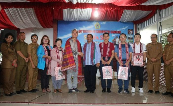 Sekjen Tourism Promotion Organization Tinjau Kesiapan Samosir sebagai Tuan Rumah Sidang TPO 2021