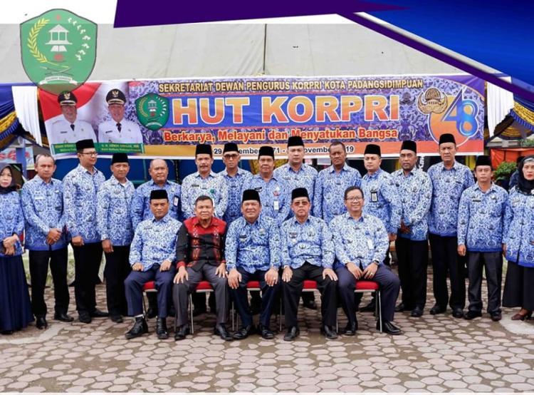 Pemko Padangsidimpuan Peringati HUT PGRI