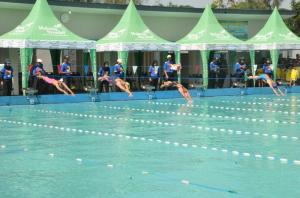 Sebanyak 555 Atlet Renang Ramaikan Danrem 083/ Baladika Jaya Cup 2019