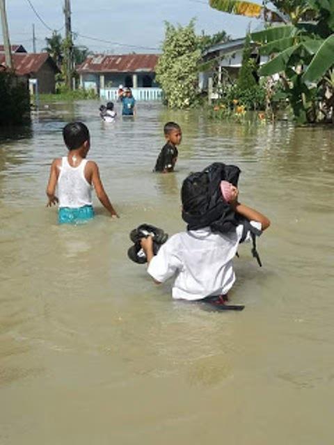Banjir Rendam Ratusan Rumah di Tamora