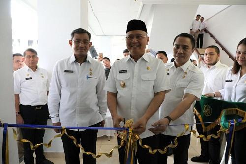 Walikota Medan Soft Launching Medan Command Center