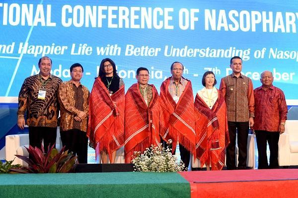 Konferensi Internasional Karsinoma Nasofaring di USU Wagubsu Berharap Terobosan dari Para Peserta
