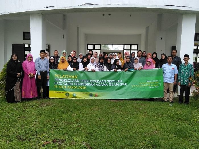Guru PAI Se-Banda Aceh Dibekali Pelatihan Perpustakaan