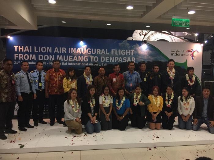 Thai Lion Air Resmi Luncurkan Penerbangan Langsung Bangkok ke Bali
