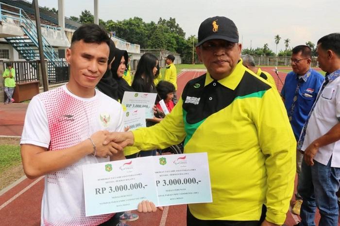 Kejuaraan Atletik Difabel 2018 Resmi Dibuka Walikota Medan