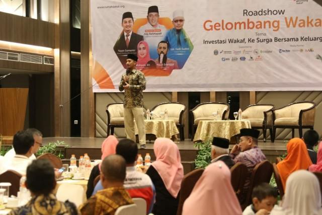 Pemko Medan Apresiasi Roadshow Gelombang Wakaf Yang Digelar Rumah Zakat