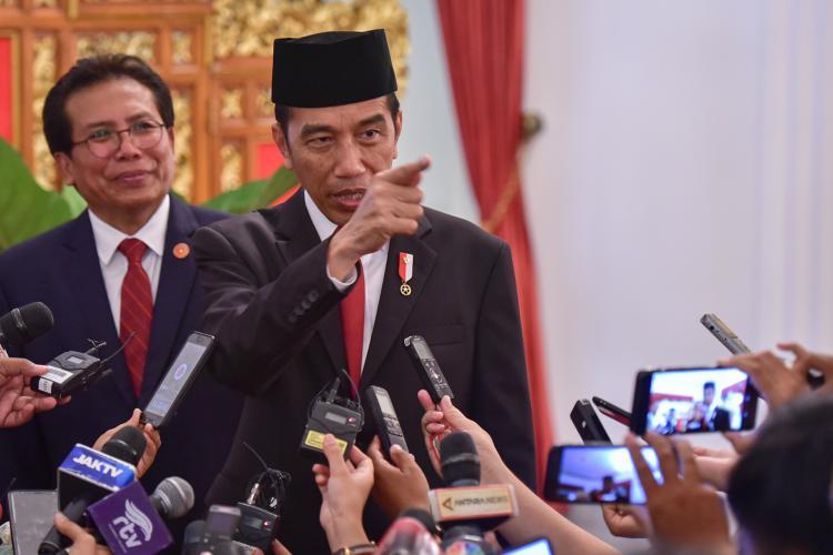 Optimistis KPK Akan Lebih Baik, Presiden Jokowi: Komposisi Dewan Pengawas Kombinasi Yang Sangat Baik
