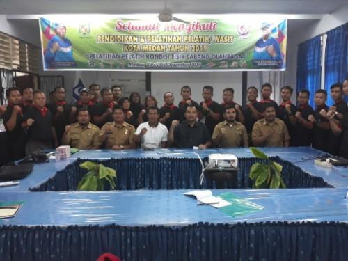 Tingkatkan Kualitas Pelatih dan Wasit, Dispora Medan Gelar Diklat