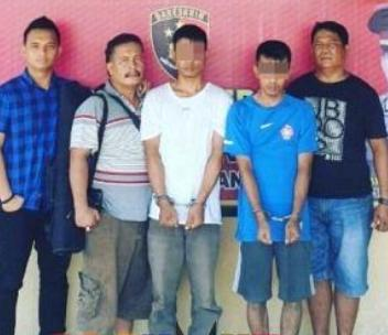 Dua Pelaku Curanmor Berhasil Ditangkap Polres Labuhanbatu di Lokasi Berbeda