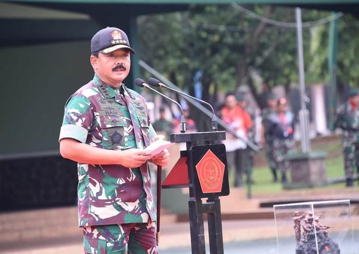 Panglima TNI Tutup Lomba Tembak di Lapangan Cilodong Depok