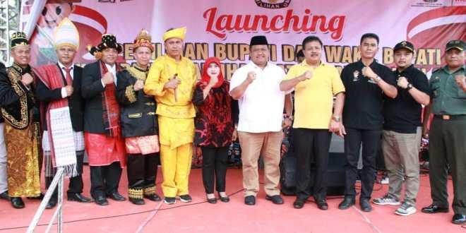 Bupati Labura Hadiri Launching Pemilihan Kepala Daerah/Wakil Kepala Daerah Tahun 2020