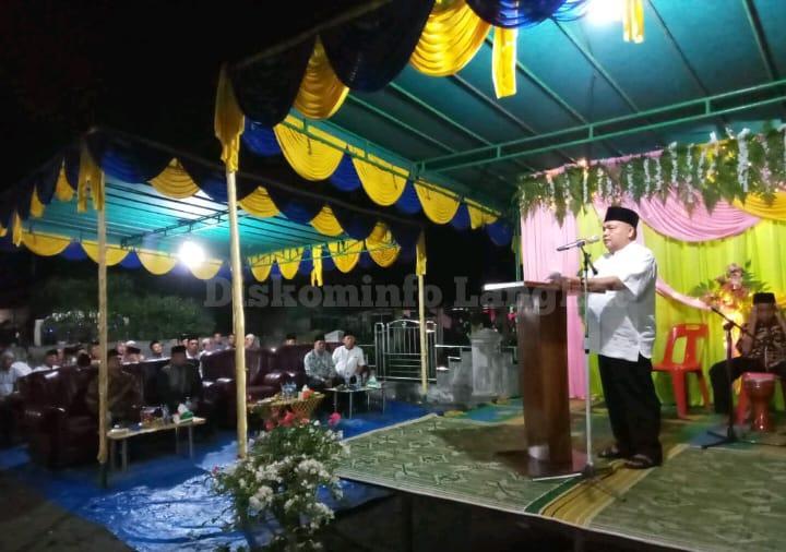 Bupati Langkat Berharap Generasi Langkat Selalu Menghidupkan Masjid