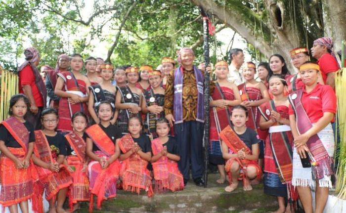 Bupati Samosir Resmikan Objek Wisata Kuburan di Atas Pohon Lumban Sijabat