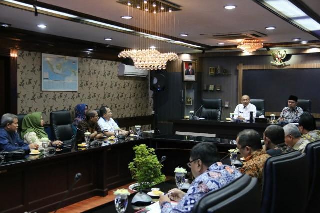 Bahas Dana Bagi Hasil dan Banjir, Anggota DPRD Sumut Dapil 1 Medan Kunjungi Pemko Medan