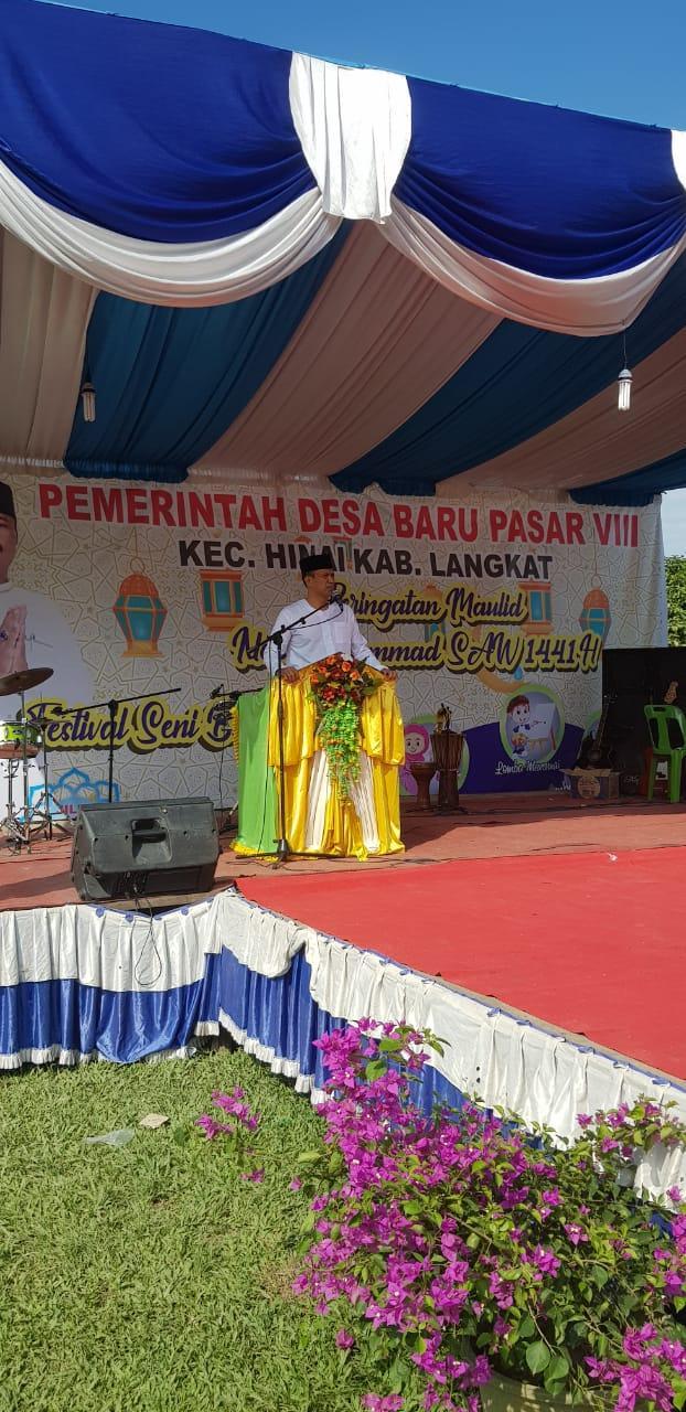 Hinai Gelar Maulid Dan Festival Seni Budaya Islam