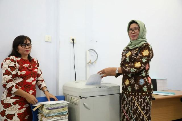 20.500 Arsip Dimusnahkan Dinas Perpustakaan dan Kearsipan Medan