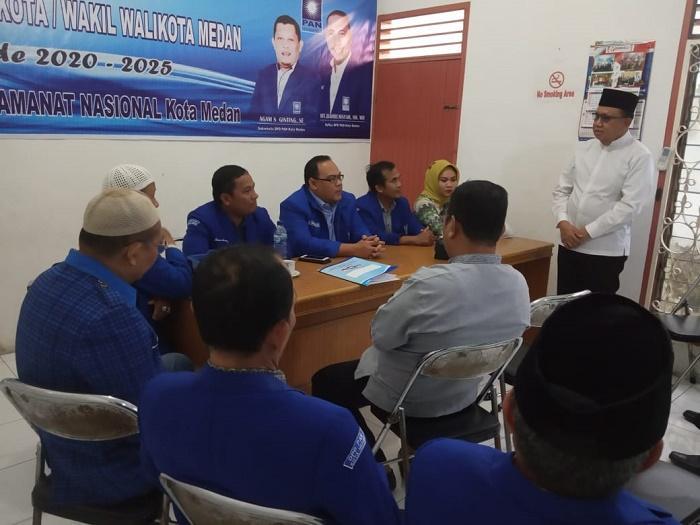 Mantan Kabiro Keuangan Pemprovsu, Mhd Syafii Mendaftar ke PAN