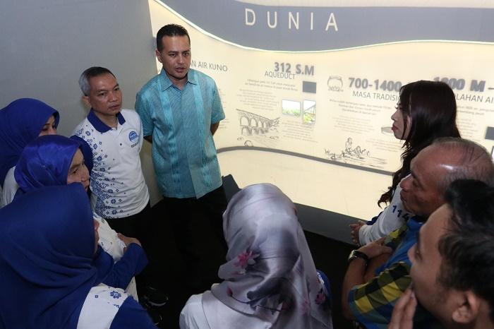 Wagub Dukung Pembangunan Museum Air Pertama di Indonesia
