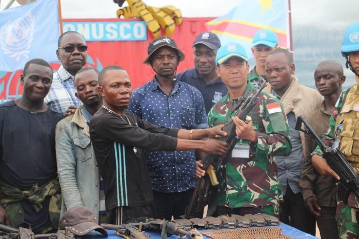 Satgas TNI di Afrika Kembali Sadarkan Ex-Combatant ke Masyarakat Umum