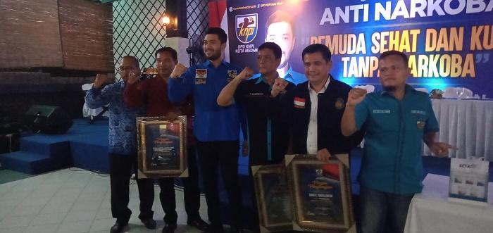 El Adrian Shah: KNPI Dorong Pembentukan BNN Kota Medan