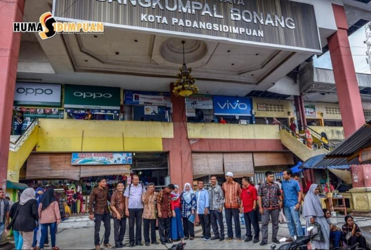 Tim Pengendali Inflasi Daerah (TPID) Kota Padangsidimpuan Monitoring ke Pasar Raya Sangkumpal Bonang