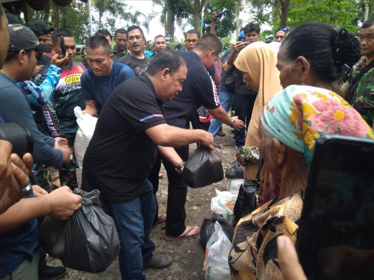 Polda Sumut Bareng TNI Trabas Sira Sira