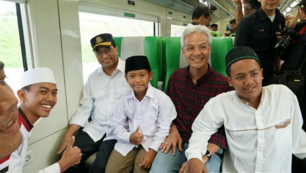 Mulai Beroperasi, Kereta Api Bandara Internasional Adi Soemarno Gratis Selama Dua Bulan
