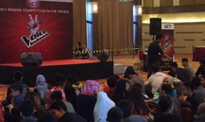 Ini Medan Bung! Ribuan Orang Ikuti Audisi The Voice Indonesia