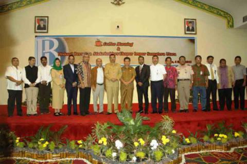 Wagub Ajak Stakeholder Dorong Peningkatan Ekspor Sumut