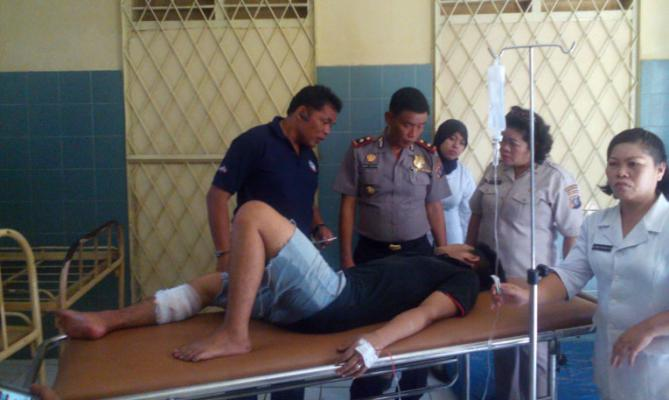 Melawan, Spesialis Pelaku Curanmor Didor Polisi di Medan
