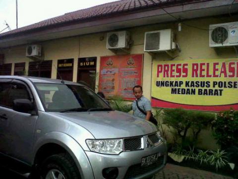 Abang Trimedya Panjaitan Dirampok di Medan