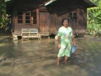 Janda Ini Bertahan Hidup Selama 20 Tahun di Pinggir Sungai Batang Serangan